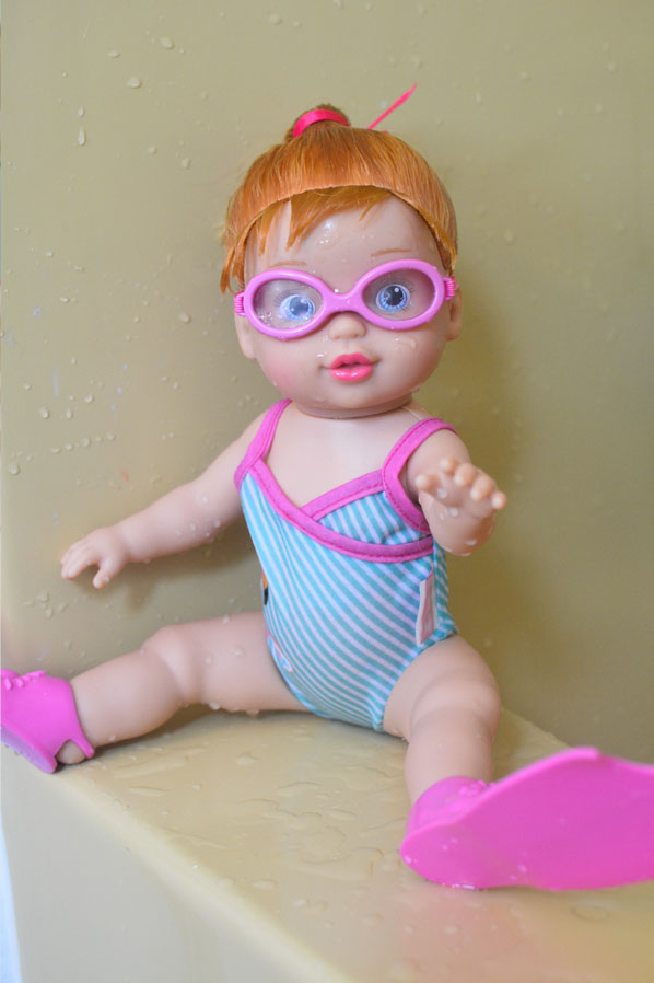 Baby Born swimming doll