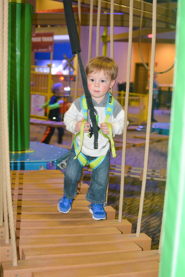 great wolf lodge ropes course toddler