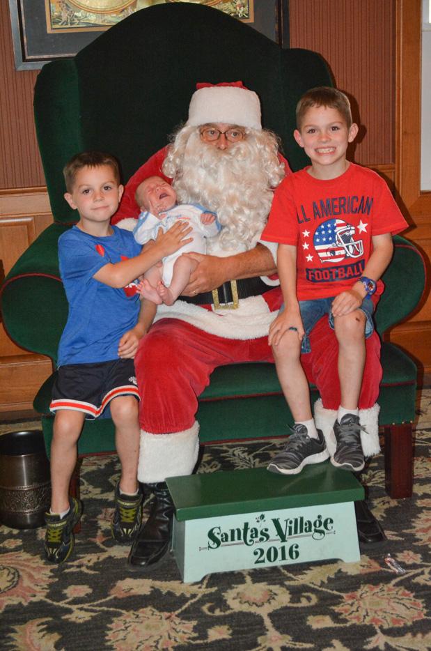 meeting santa at santa's village