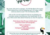 Stride Rite Fit-Topia is Coming To Boston 5/13 #FitTopia