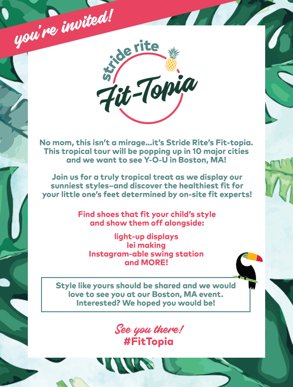 Stride Rite Fit Topia