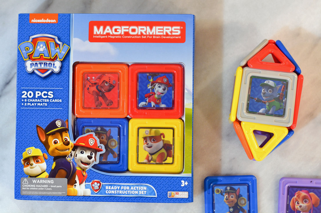 paw patrol magformers giveaway