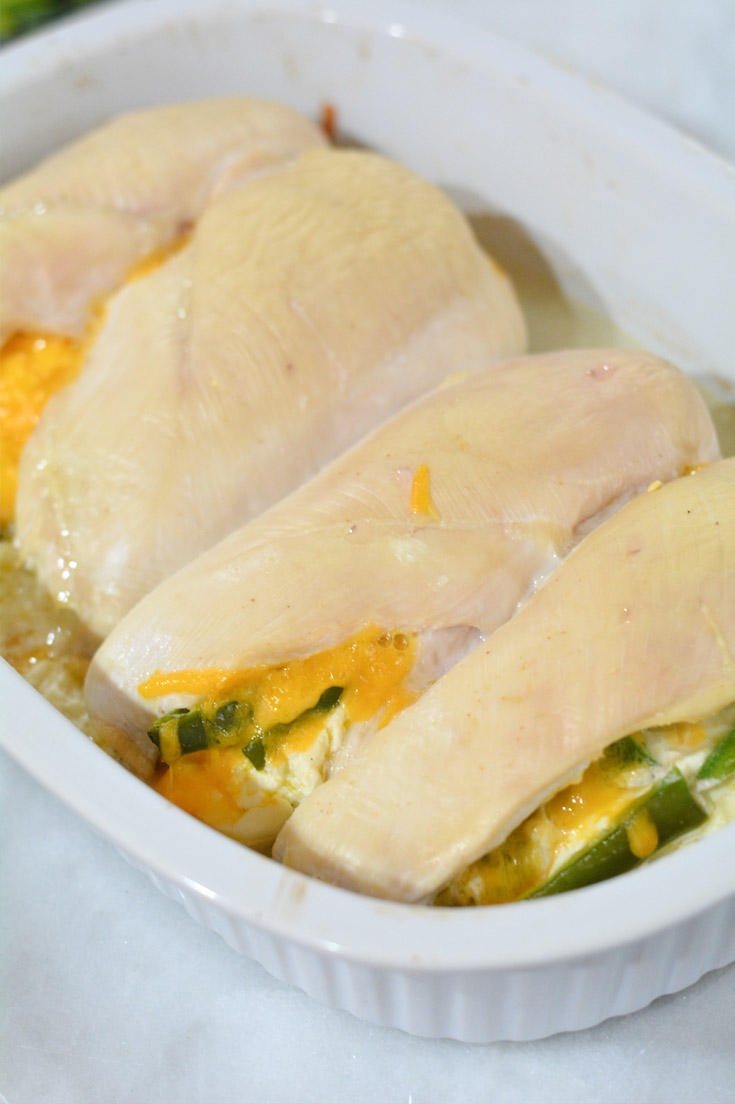 Baked Jalapeno Chicken