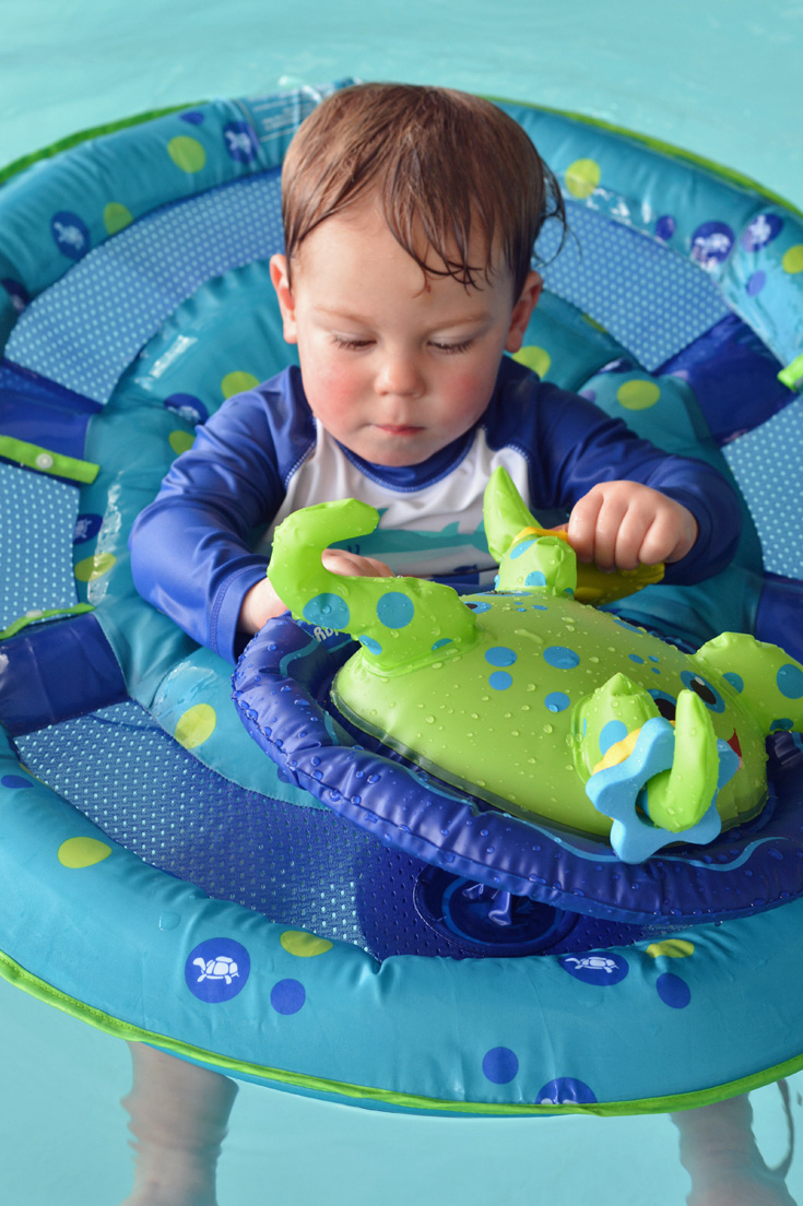 Stay Safe Around The Water Swimways Baby Pool Floats
