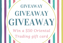 Oriental Trading Giveaway – Win a $50 Gift Card