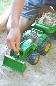 John Deere Tractor Monster Treads