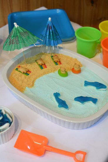 shark birthday party food
