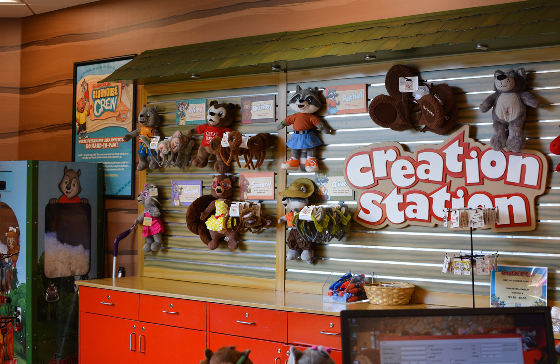 great wolf lodge Creation Station