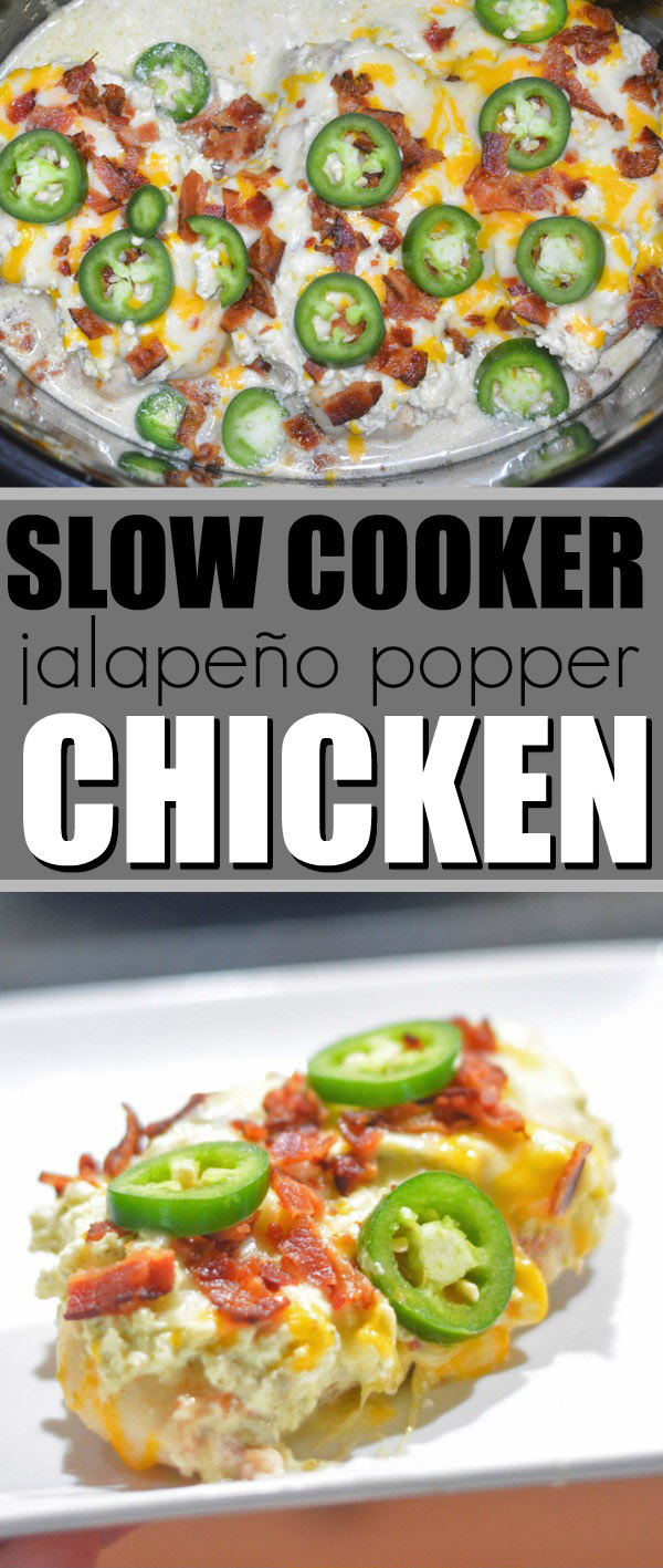 Slow Cooker Jalapeno Chicken