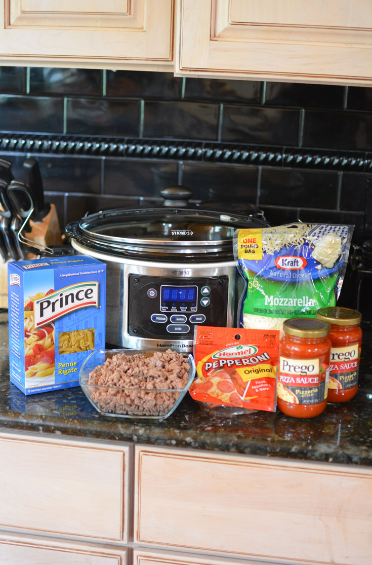 crockpot pizza casserole ingredients