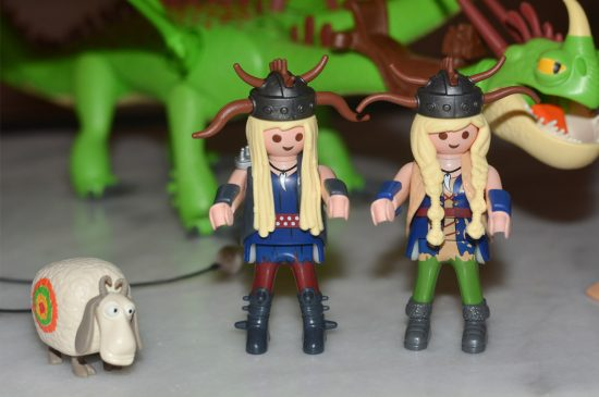 Playmobil Dragons Ruffnut and Tuffnut with Barf and Belch