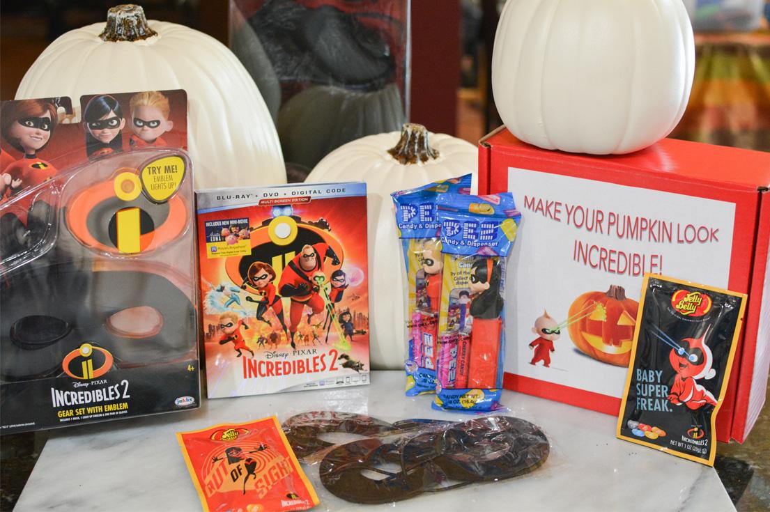 disney incredibles halloween pack