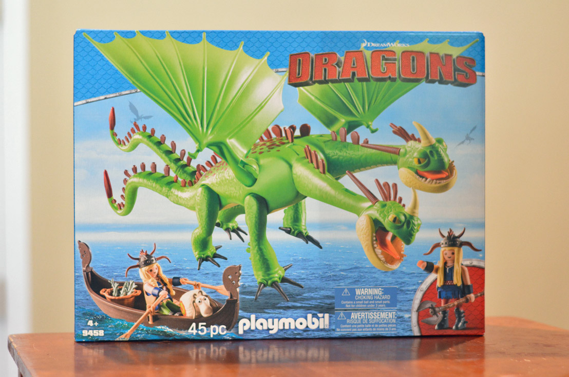 playmobil dragon 9458