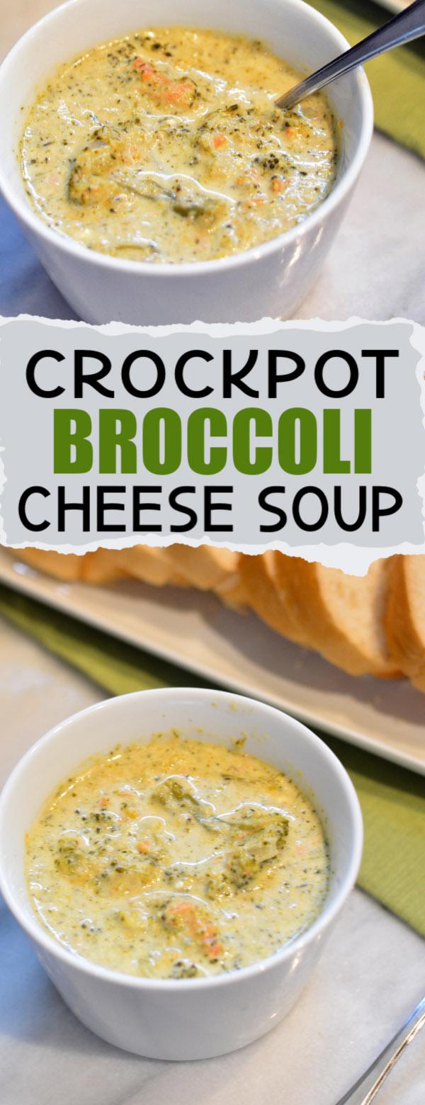 crockpot broccoli chesse soup