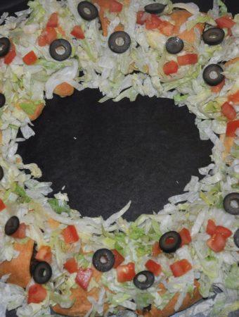 taco wreath