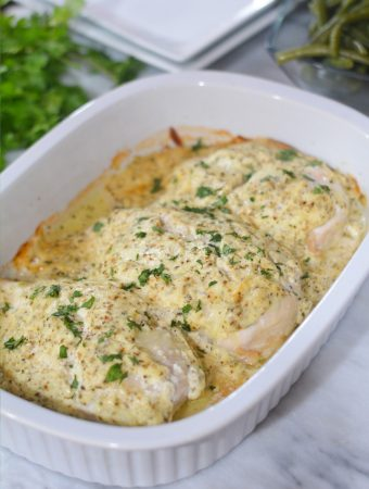 baked sour cream chicken