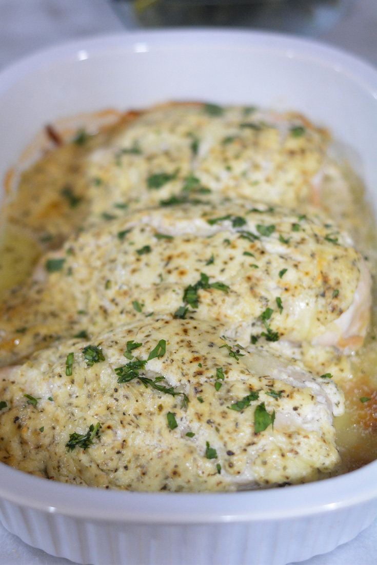 sour cream chicken cooked in the oven