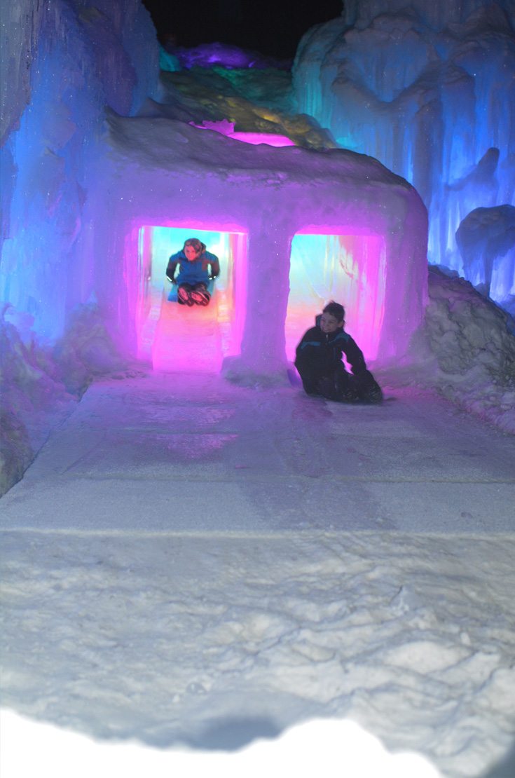 ice castles nh photos