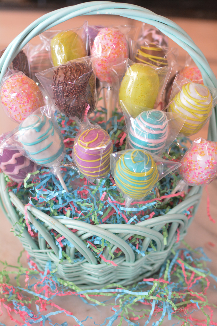 Chocolate Egg Cake Pops