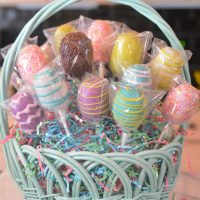 Easter Egg Cake Pop