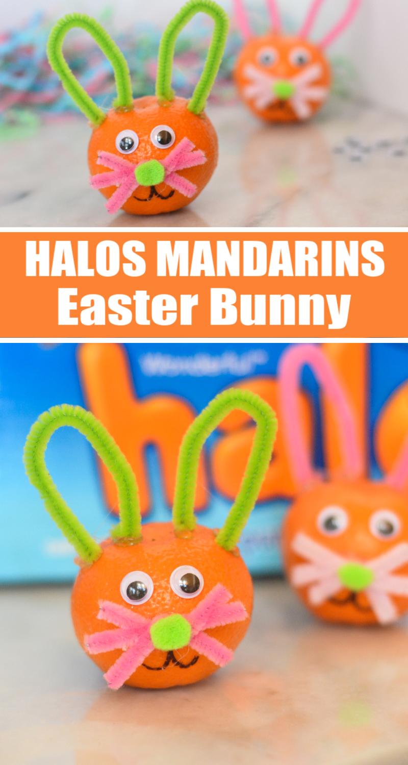Halos Mandarins Easter Bunny Snack