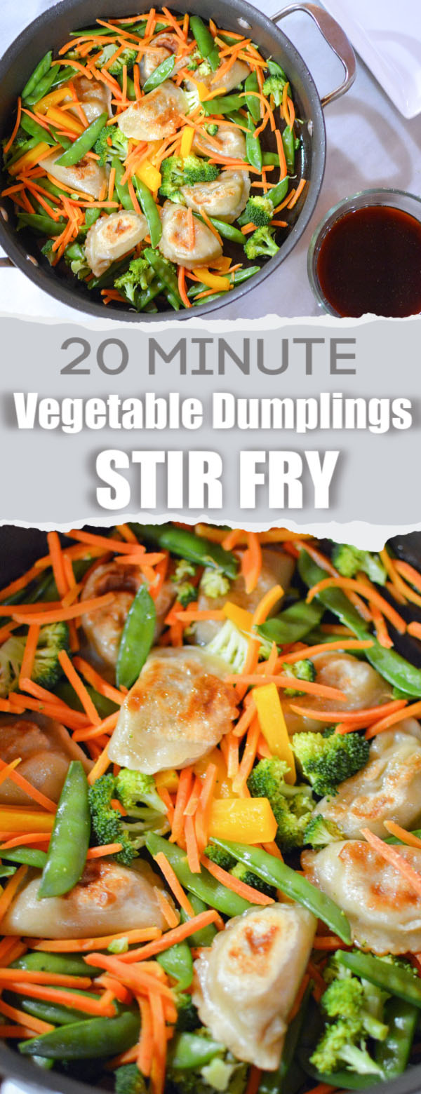 Stir Fry with Vegetable Dumplings