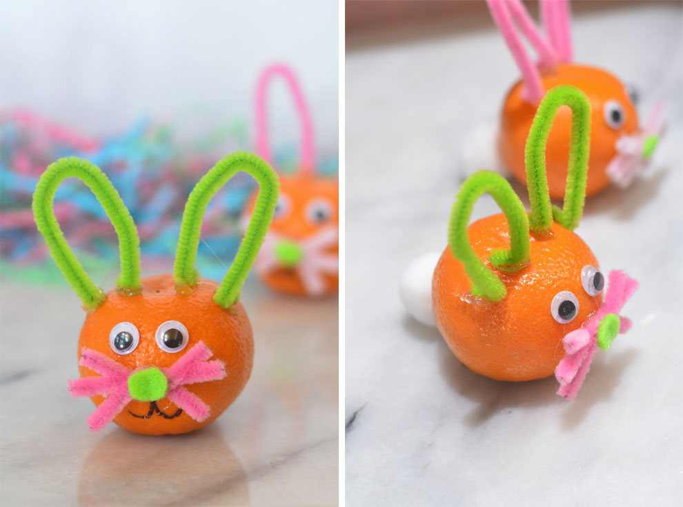halos easter bunny craft