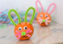 Wonderful Halos Easter Bunny Craft