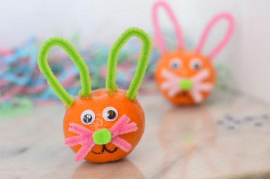 Wonderful Halos Easter Bunny Craft