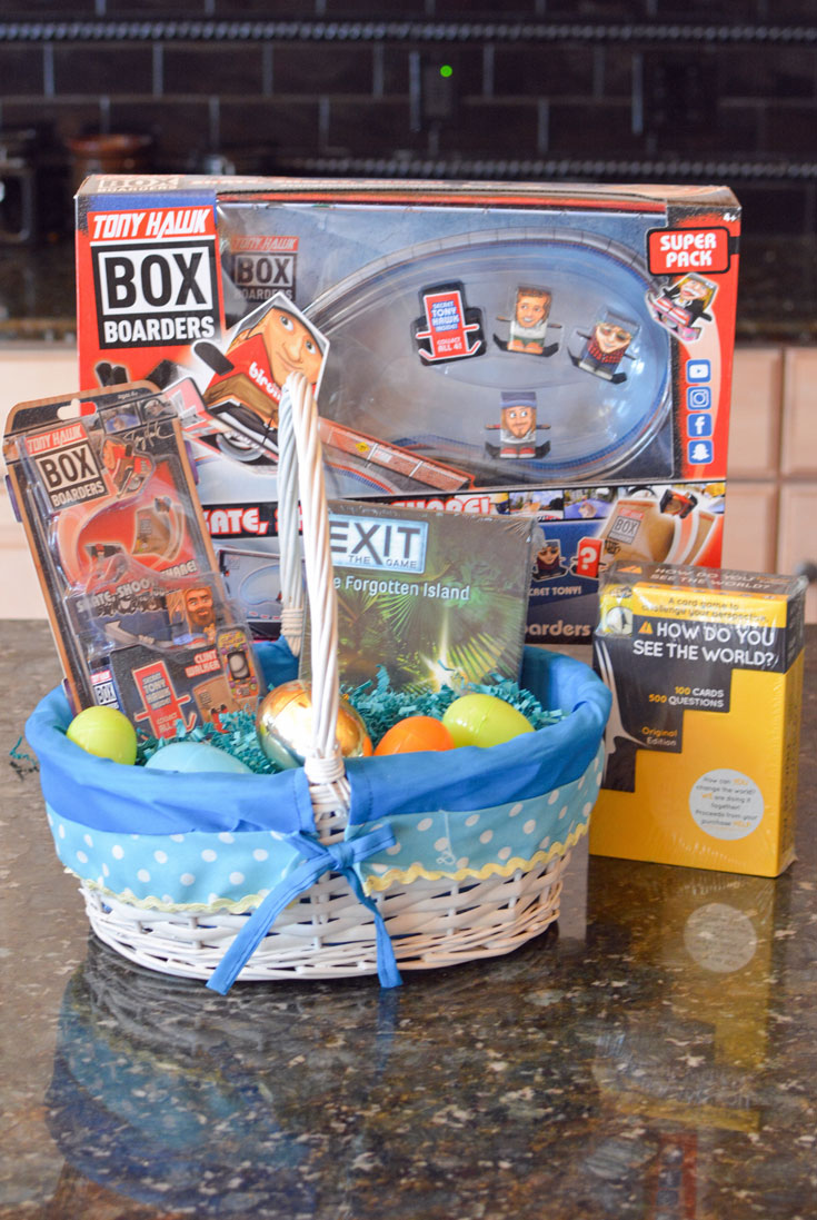 non candy easter basket ideas boys