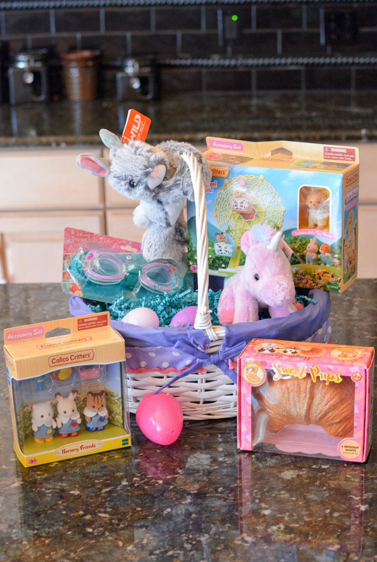 non candy easter basket ideas girl