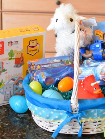 non candy easter basket ideas preschooler