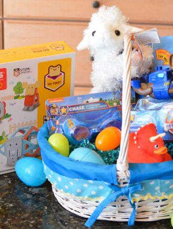 non candy easter basket ideas preschooler