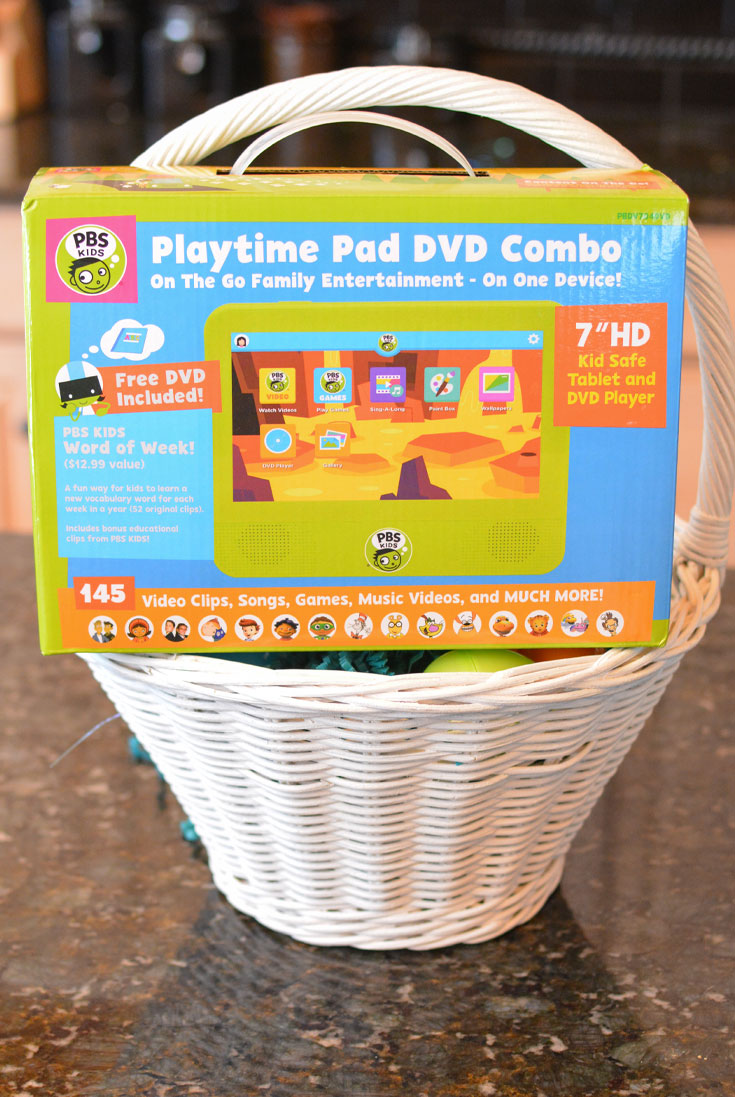 PBS playtime pad DVD combo