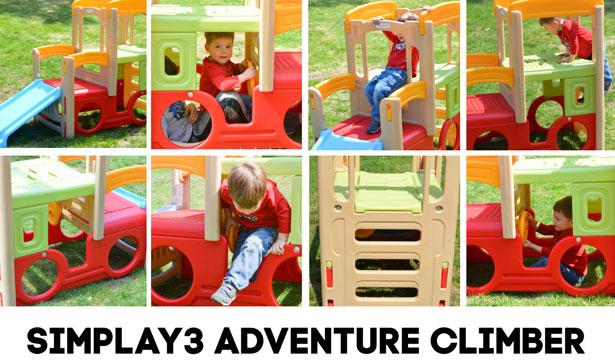 Simplay3 Adventure Climber