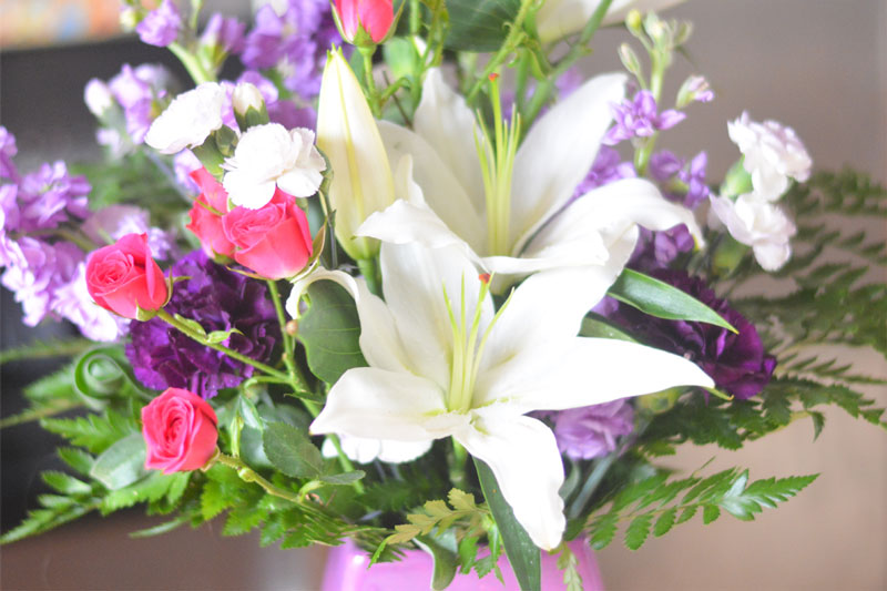 Telflora's Regal Blossoms Bouquet