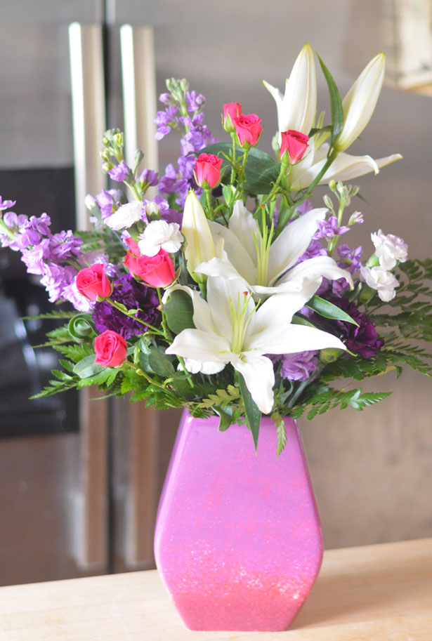 Telflora's Regal Blossoms Mother's Day Bouquet