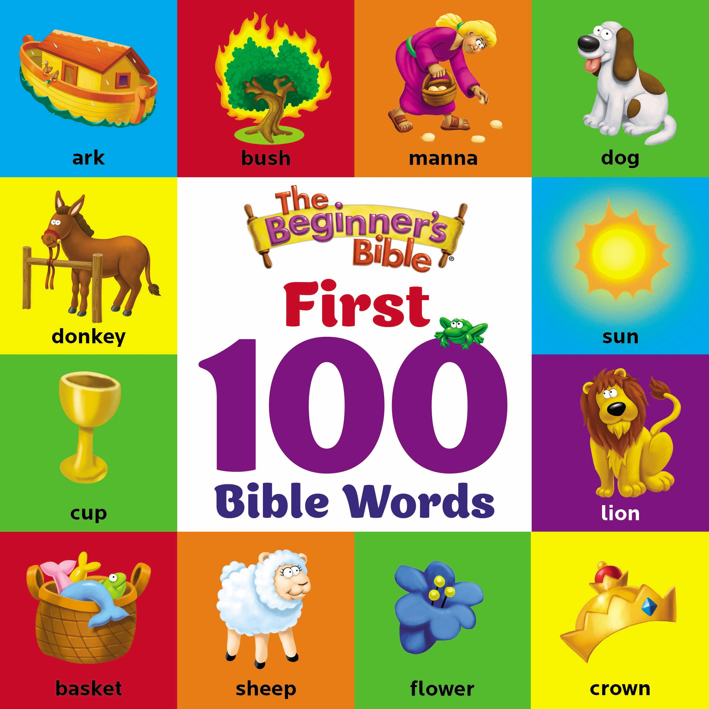 The Beginner's Bible First 100 Bible Words cover