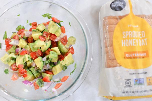 gluten free avocado toast