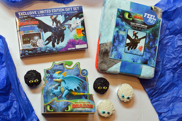 How to Train Your Dragon 3 Walmart DVD Toy