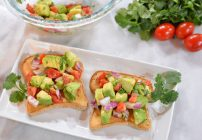 5 Minute Avocado Salsa Toast