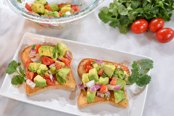 vegan avocado toast