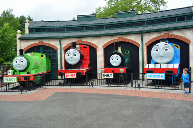 thomasland at kennywood