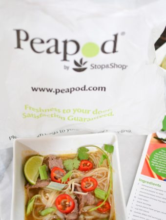 peapod fast pho meal kit