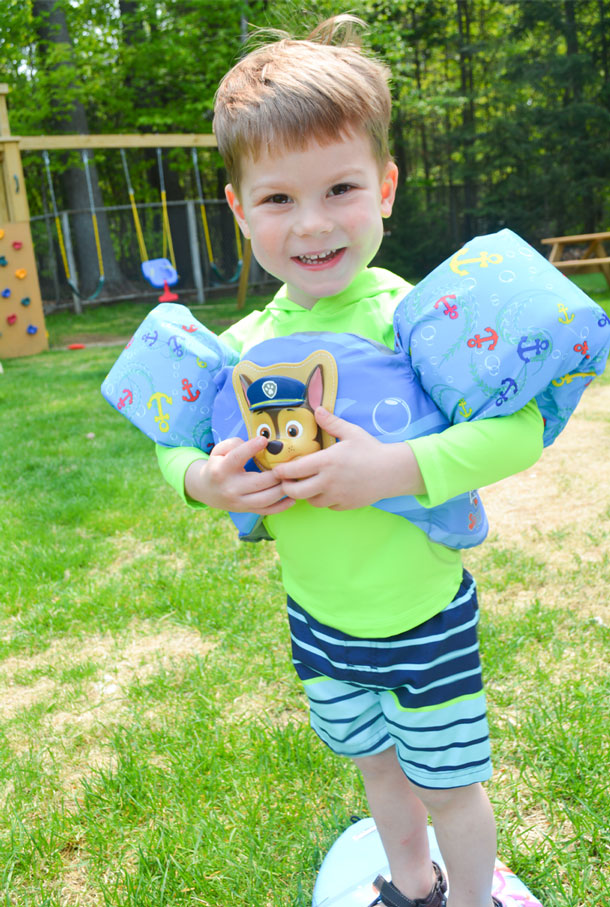swimways paw patrol swim trainer
