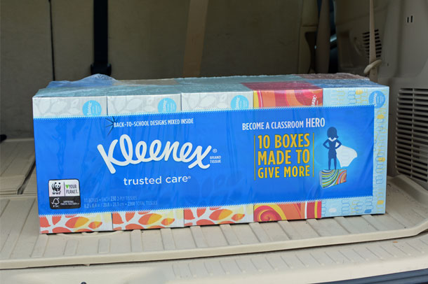 kleenex bundle costco