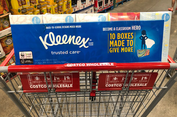 kleenex back to school bundle costco