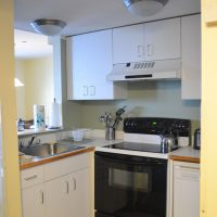 waterville valley town square condo kitchen
