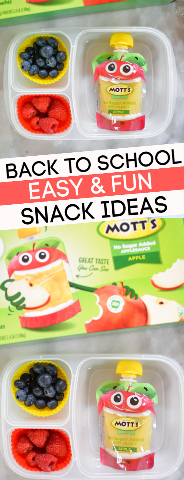 fun school snack ideas