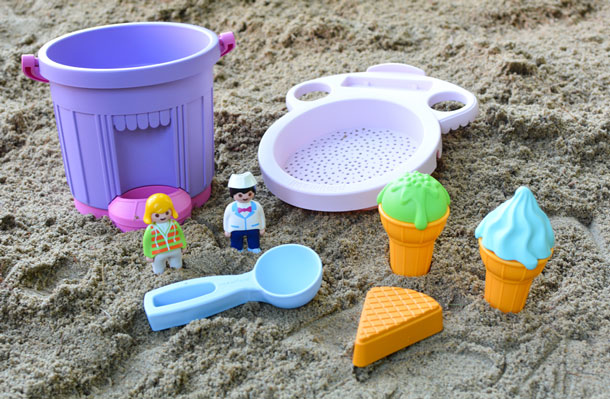 playmobil sand ice cream